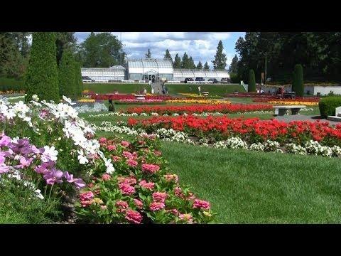 Classical Duncan Gardens, Manito Park - Spokane, Washington