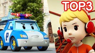 Les Outils Intéressants de Jin | Robocar POLI TOP 3 |Dessin Animé pour les Enfants|Robocar POLI télé