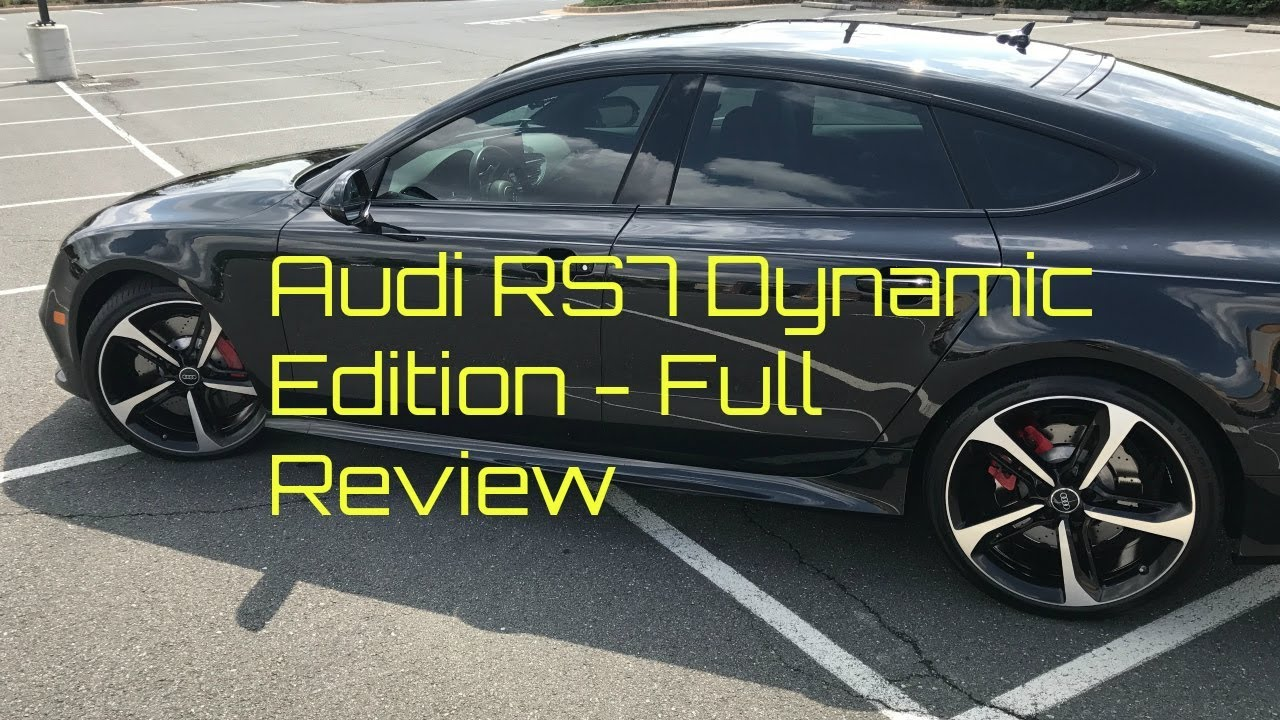 Audi RS7 Dynamic Edition Full Review and Walk Around - YouTube
