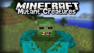 Minecraft - Mod Showcase : Mutant Creatures