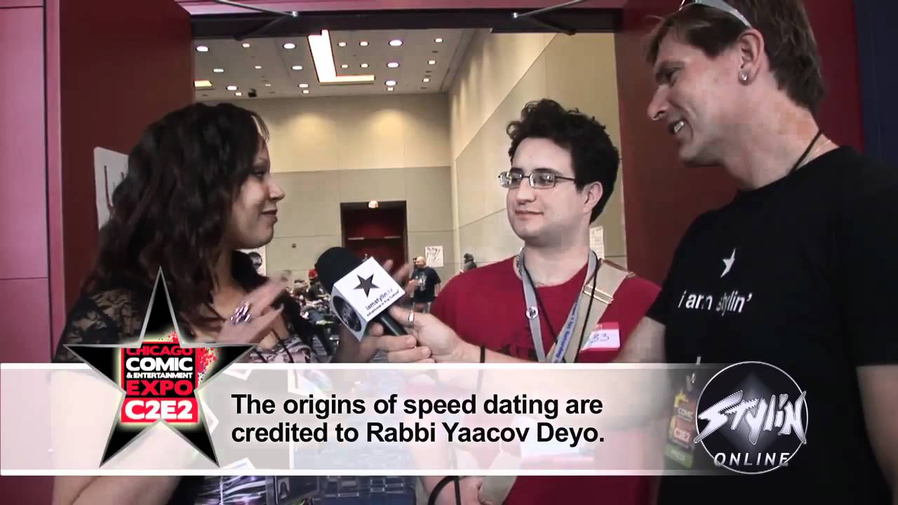 Speed dating at c2e2