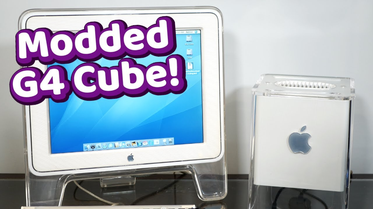 Rescuing a Crazy MODDED G4 Cube (with scorch marks inside!)