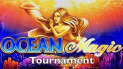 OCEAN MAGIC Slot Machine - BIG WIN BONUS - Slot Challenge @ Holland Casino - IGT Pokies