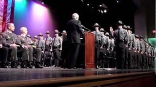 Pennsylvania State Police Academy cadet graduation