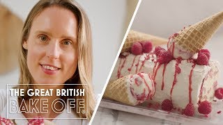 How to make a classic Arctic Roll - Dessert Recipe  The Great British Bake Off  S10