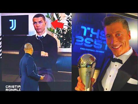 РЕАКЦИЯ РОНАЛДУ НА ПОБЕДУ ЛЕВАНДОВСКИ ПОДОРВАЛА ИНТЕРНЕТ! THE BEST-2020