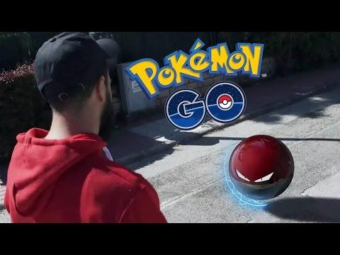 POKEMON GO EN LA VIDA REAL !! ÉPICO !!   Video Reacción - Escardi