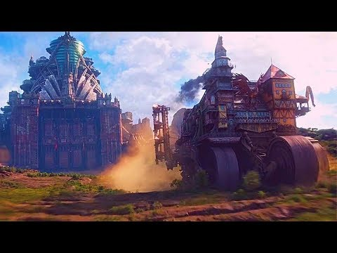 Mortal Engines 2018 - Opening Chase Scene - HD