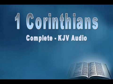 1 Corinthians - Paul's 1st Letter to Corinth - Holy Bible, KJV Audio, Complete