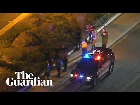 Police at scene of California bar shooting