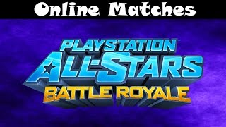 Playstation All-Stars: Battle Royale (PS3) Online Free-For-All!