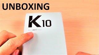 UNBOXING LG K10 (2017) M250n