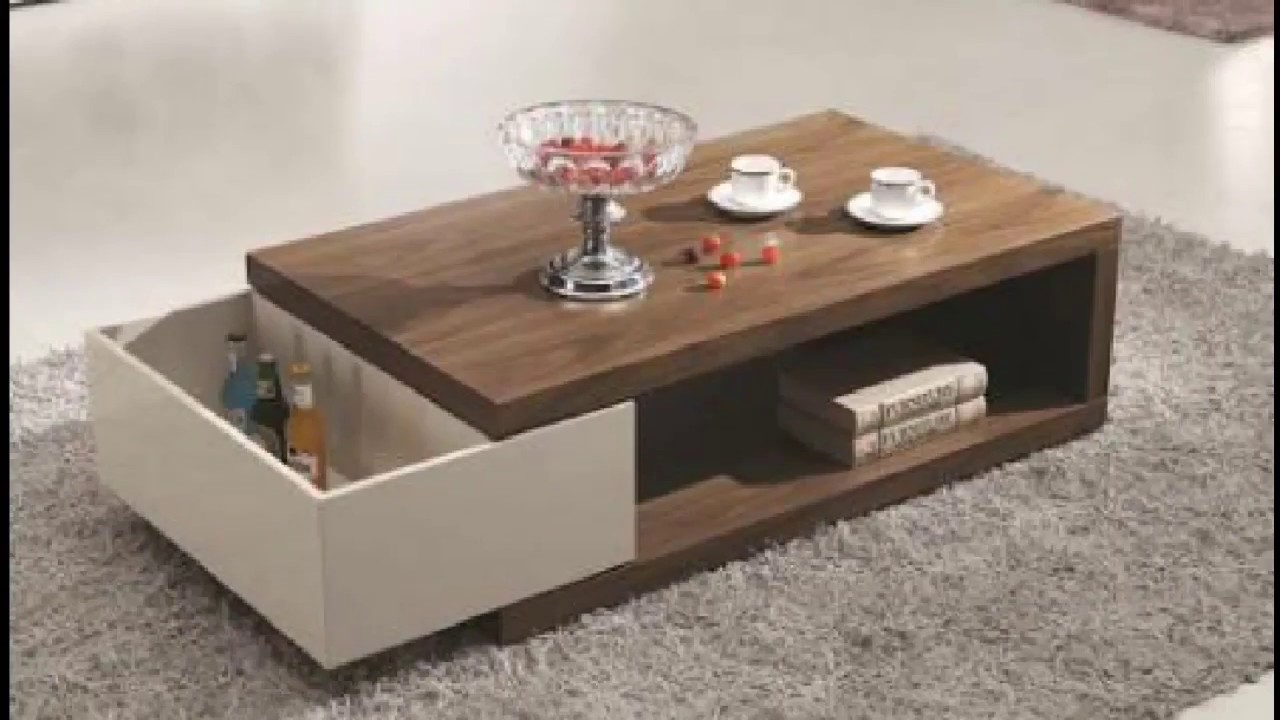 Superbe New Modern Tea Table Design 2017