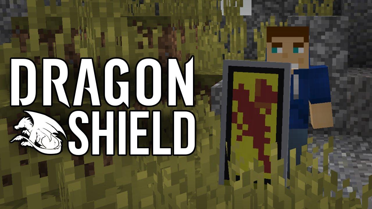 Make a Dragon Shield! - Minecraft