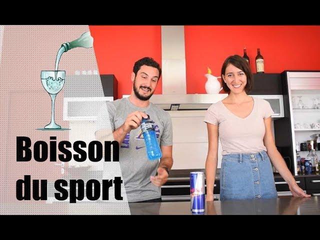 Boisson pendant et après l'effort par Julien coach sportif et Charline diététicienne