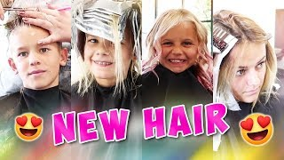 HAIRCUTS AND COLOR MAKEOVER | THE LEROYS