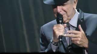 Leonard Cohen :Anyhow:Manchester Arena 31-8-13