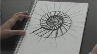 How to Draw : How to Draw a Spiral Staircase in Perspective