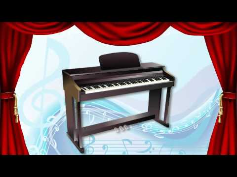 Musical Instrument Sounds English Part 1 - Learn Fast Fun - Recognize Memorize Speak #