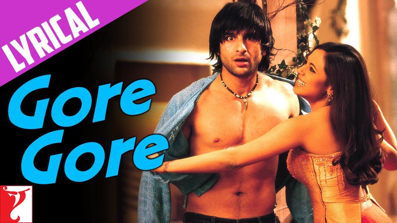 Download Lyrical | Gore Gore Song with Lyrics | Hum Tum | Saif Ali Khan, Rani Mukerji | Prasoon Joshi