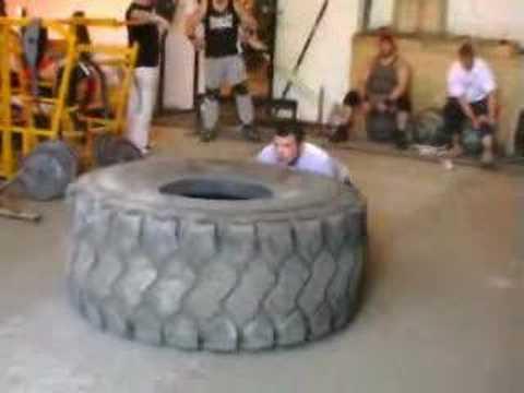 Josh Pearson 440Kg Tyre Flip