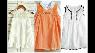 comfortable summer baby frock easy stitch at home