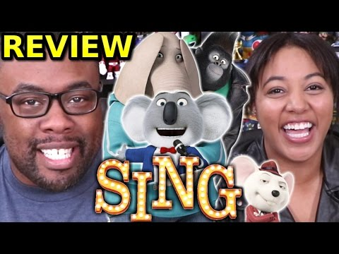SING MOVIE REVIEW and CARTOON CONSPIRACY ft. CuriousJoi