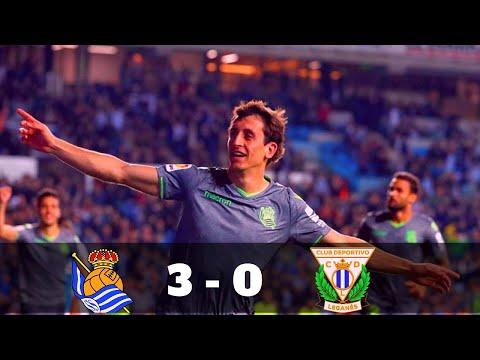 Real Sociedad 3 - 0 Leganes Highlights & Goals 2019 HD- Dailysport