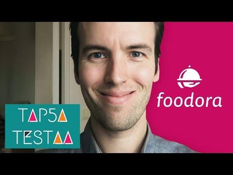 Foodora Helsinki testissä | Tap5a Testaa