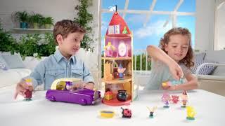 台中 宏富玩具  Ben & Holly豪華城堡