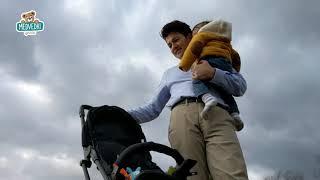 Otroški voziček Minimi toTs smarTrike zložljiv