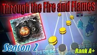 Roblox Robeats | Through the Fire and Flames (Hard) FC Run Rank A+ New Best