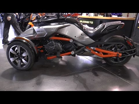 2015 Can-Am Spyder F3-S - First Ride