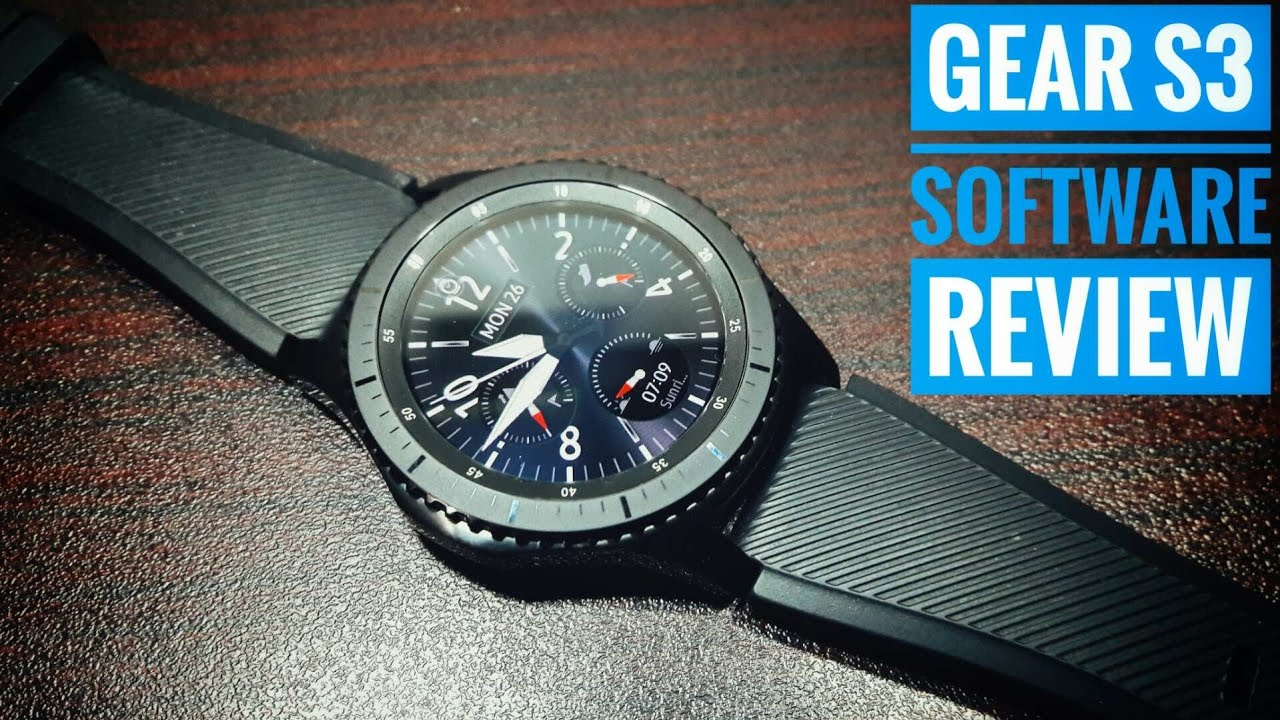 Samsung Gear S3 Frontier software review!