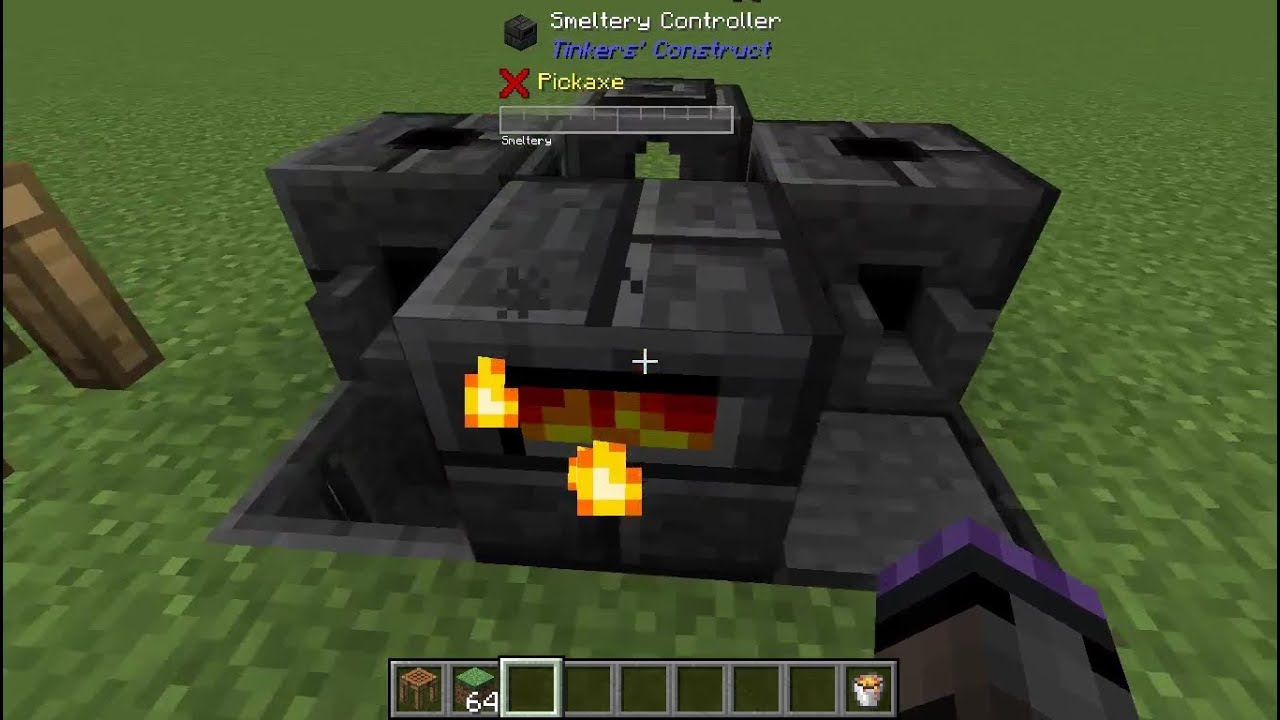 Tinkers Construct Tips- Smeltery Cheapest Small Early Game Quick Start