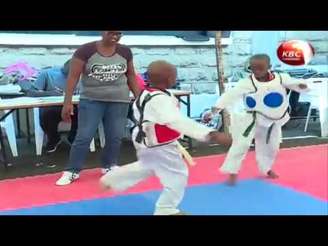 Over 200 students  take part in taekwondo championship at Makini School