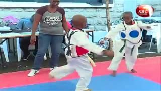 Over 200 students  take part in taekwondo championship at Makini School
