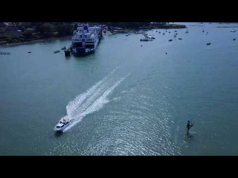 Drone Video: Fishbourne Harbour, Isle Of Wight