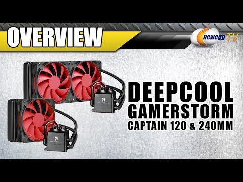 DEEPCOOL CAPTAIN CPU Liquid Cooler Overview - Newegg TV