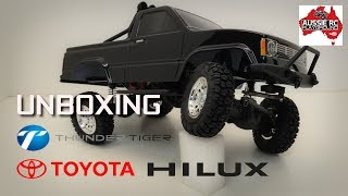 Unboxing: Thunder Tiger Toyota Hilux 1/12 Scale truck