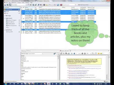 EndNote X7 - an essential citation tool for students