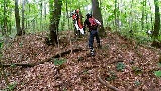 Прохват по лесу Motoland XR 250