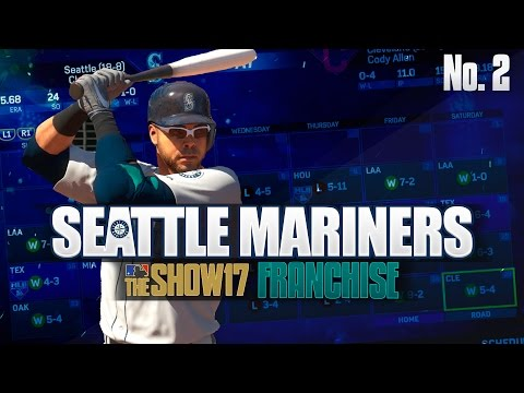 MLB The Show 17 Franchise Seattle Mariners Ep. 2