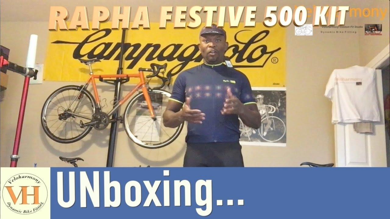 Unboxing Rapha Festive 500 Cycling kit - YouTube d115c9cc7