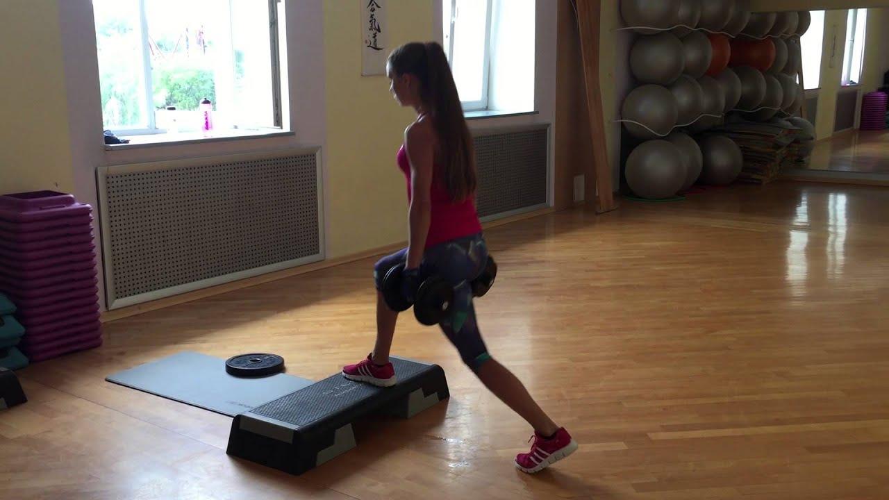 Image result for girl step gym