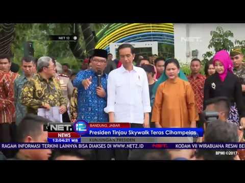 Ridwan Kamil Dampingi Presiden Jokowi Saat Kunjungan Presdien Ke Bandung - NET12
