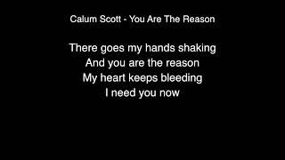 Calum Scott   You are the reason Lyrics Live From Abbey Road Studios