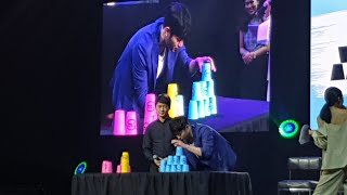 Seo Kang Jun LIVE in MANILA Playing PLASTIC CUP GAME #SeoKangJun #TheLastCharm #SeoKangKunLiveinManila #PlasticCupGame #KoreanStar ...
