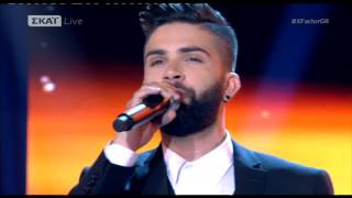Andreas Leontas Thes 3o live - Ανδρέας Λέοντας Θες Xfactor