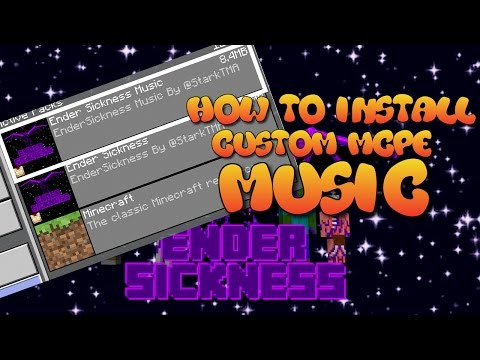 😎 How to install custom Music in MCPE